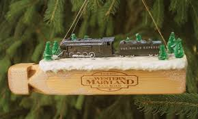polar express whistle ornament