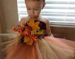 Thanksgiving Tutu Dresses Flower Dress Etsy