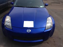 Nissan 350z Blue - fs 2004 5 daytona blue base nissan 350z with only 27 700 miles
