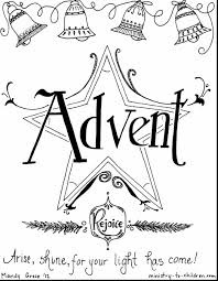 terrific advent coloring book pages with free christian coloring