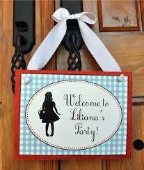 Wizard Of Oz Party Decorations Wizard Of Oz Birthday Party Ideas Birthday Party Ideas For Girls