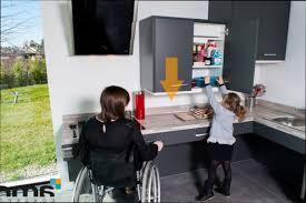 cuisine handicap meuble cuisine hauteur meuble cuisine handicap