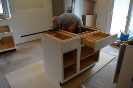 Install Kitchen Base Cabinets Tips For Installing Kitchen Cabinets Loving Here