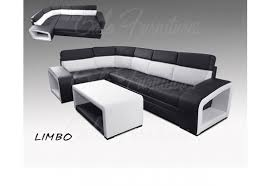 Leather Corner Sofa Beds by Lovely Faux Leather Limbo Corner Sofa Bed In White U0026 Black