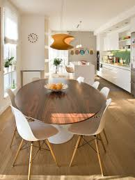Oval Dining Table Modern Houzz - Oval kitchen table