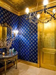best 25 blue and gold wallpaper ideas on geometric