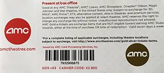 where to buy amc gift cards 10 amc theater gold tickets ticket rolls office