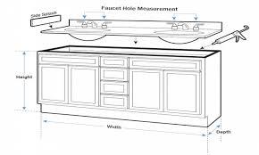 Bamboo Vanity Cabinets Bathroom by 30 Bathroom Cabinet Sizes Standard Bathroom Sink Dimensions Sink