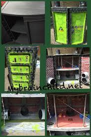 Diy Teenage Diy Teenage Mutant Ninja Turtle Sewer Lair Diy Crafts Storage