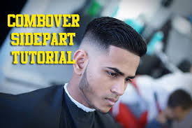 how to cut comb over hair combover sidepart tutorial step by step how to youtube