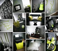damask home decor lime green black and white damask office home decor diy ikea
