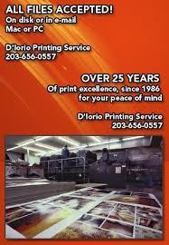 Invitation Printing Services Print Services Bridgeport Ct D U0027iorio Printing Service