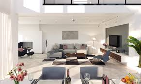 Wohnzimmer Esszimmer Rendering Wohn Esszimmer 3d Architekturvisualisierung Und