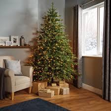 7ft 6in thetford pre lit led tree led tree