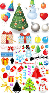 christmas tree cartoons christmas lights decoration