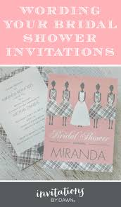 bridal shower wording wording your bridal shower invitations