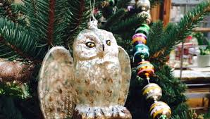 ornament snowy owl beautiful white owl ornaments snowy owl in
