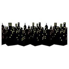 skyline black friday target complete your city scene with this above the city lights skyline
