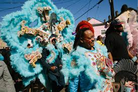 mardi gras suits new orleans indians suit up for mardi gras al jazeera america