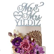 mr and mrs wedding cake toppers wedding cakes simple heart wedding cake toppers trends of 2018