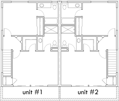 modern duplex house plans studio house plans