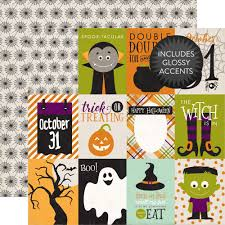 collections echo park paper co halloween