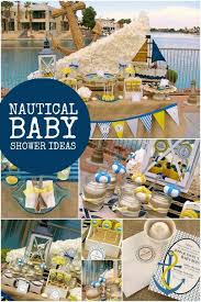 anchor baby shower ideas a nautical ahoy baby shower spaceships and laser beams