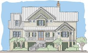 Elevated Home Plans View Oriented House Plans With Porches Tide Collection