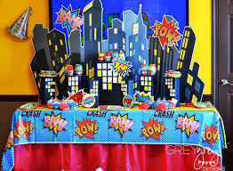 batman baby shower decorations birthday party baby shower ideas themes