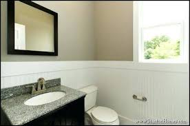 bathroom paneling ideas wainscot in bathroom paneling bathroom wall decorating
