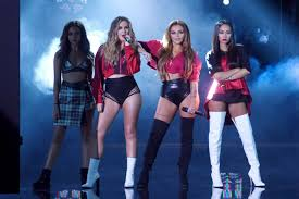 little mix show little mix performing on x factor tv show in milan italy
