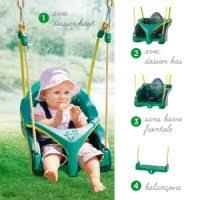 siege balancoire enfant siège balançoire 4 en 1 pour enfant de 6 mois à 10 ans oxybul
