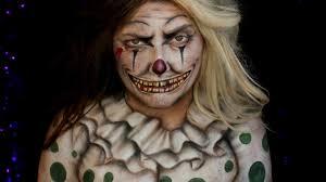 Vintage Creepy Halloween Photos Creepy Vintage Clown Halloween Makeup Tutorial Jordan Hanz Youtube