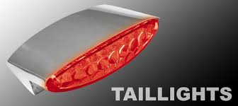 custom led tail lights motorcycle led tail lights