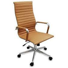 wood desk chair with wheels office chair ebay