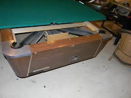 valley pool table replacement slate restoring a vintage valley coin table azbilliards com