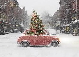 amazon com avanti christmas cards city christmas 10 count