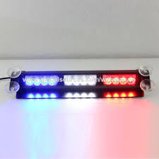 red and white led emergency lights china new warning strobe visor led emergency lights in blue amber