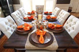 dining table decorating ideas big dining room table fall dining table decor fall