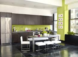 peinture mur cuisine tendance peinture murale cuisine tendance idée de modèle de cuisine