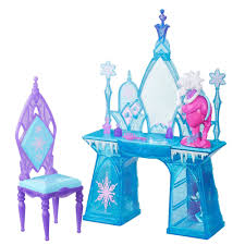 Turquoise Vanity Table Frozen Disney Frozen Snow Glimmer Vanity Set