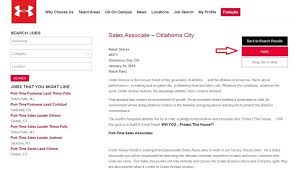 how to apply for under armour jobs online at underarmour jobs