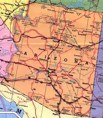 Map If The Usa by Highways Map Of Arizona State Arizona State Usa Maps Of The