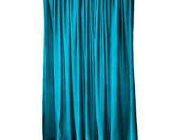 Cheap Turquoise Curtains Turquoise Curtain Etsy