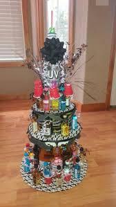 Liquor Bottle Cake Decorations 21st Birthday Alcohol Cake Girly Stuff Pinterest Alcohol