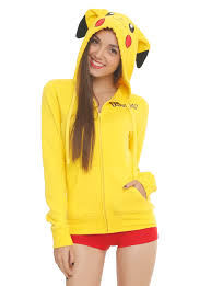 bat hoodie spirit halloween pokemon pikachu cosplay girls hoodie topic