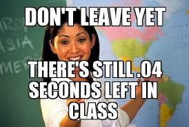 image seconds unhelpful high school teacher jpg memesrawesome