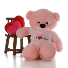 teddy valentines day 5ft size teddy for s day pink cuddles