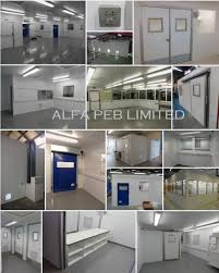 alfa peb ltd offer a wide range of modular clean rooms suitable