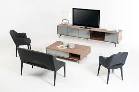 Computer Coffee Table Modrest Kennedy Mid Century Walnut Coffee Table